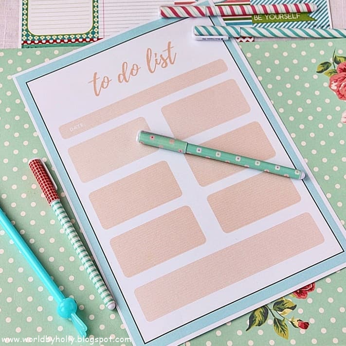 to do list, lista do planowania  organizacji, planner dzienny, lista zadań