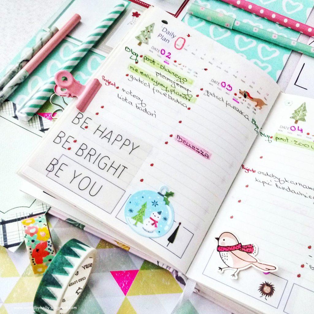 Dlaczegfo warto prowadzić planner, kalendarz, notes? Zeby być bardziej zorganizowanym.