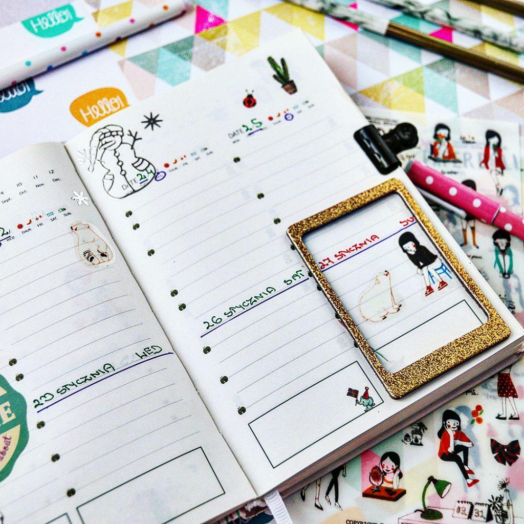 Jak powadzić kolorowy planner w zeszycie. Odszukaj swoją motywację do działania