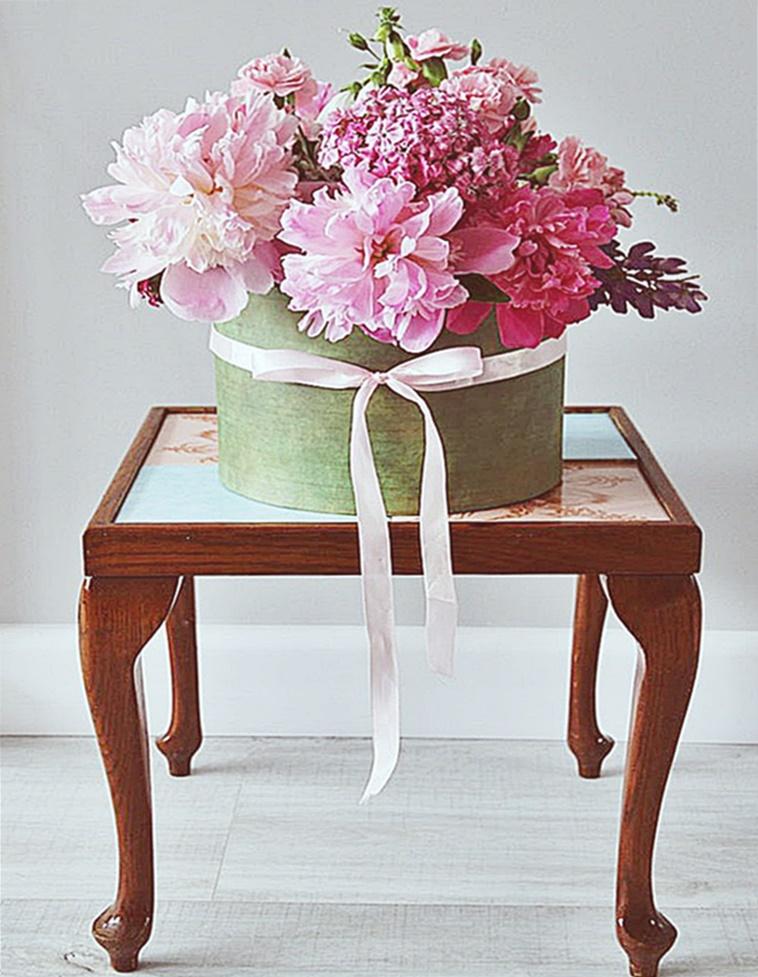Bukiet w pudełku czyli flower box
