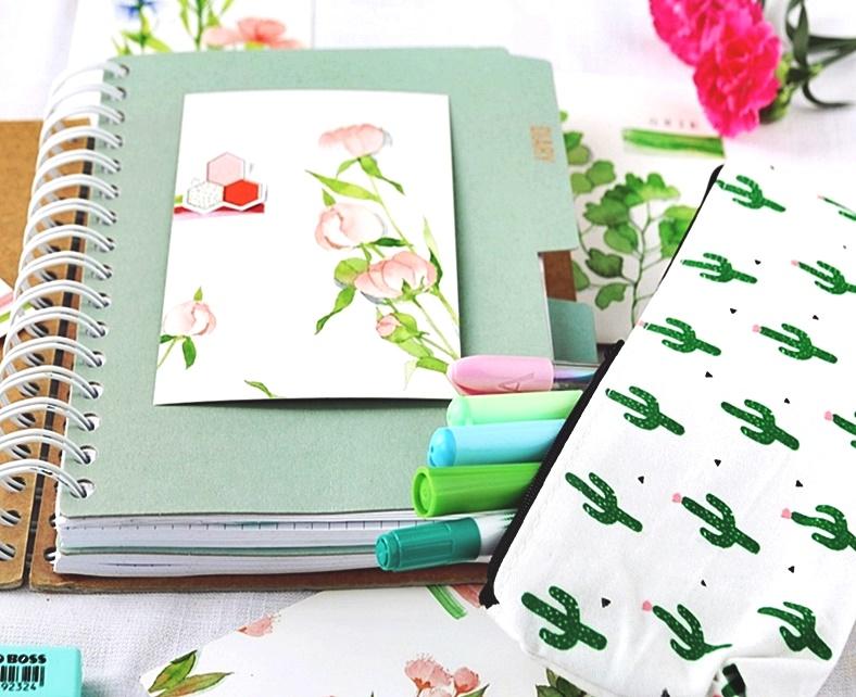 Miętowy bujo-planer do kreatywnego planowania