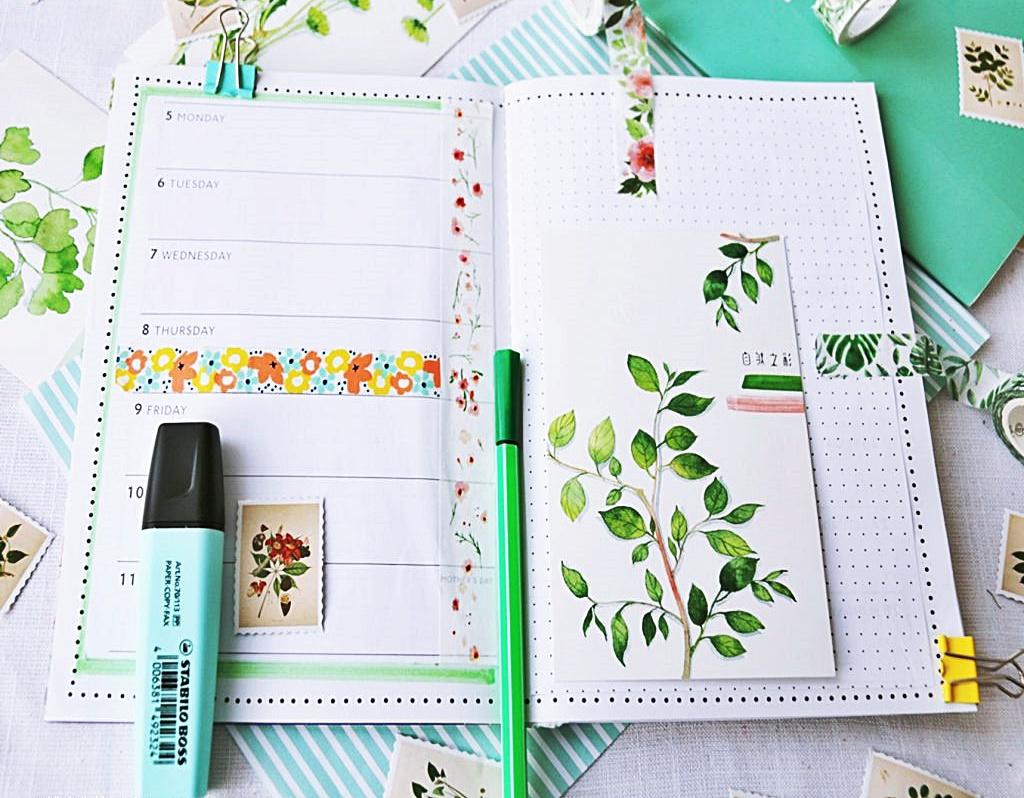 jak zrobić planner botaniczny