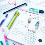 Planer tygodniowy zawierający planowanie postów na bloga