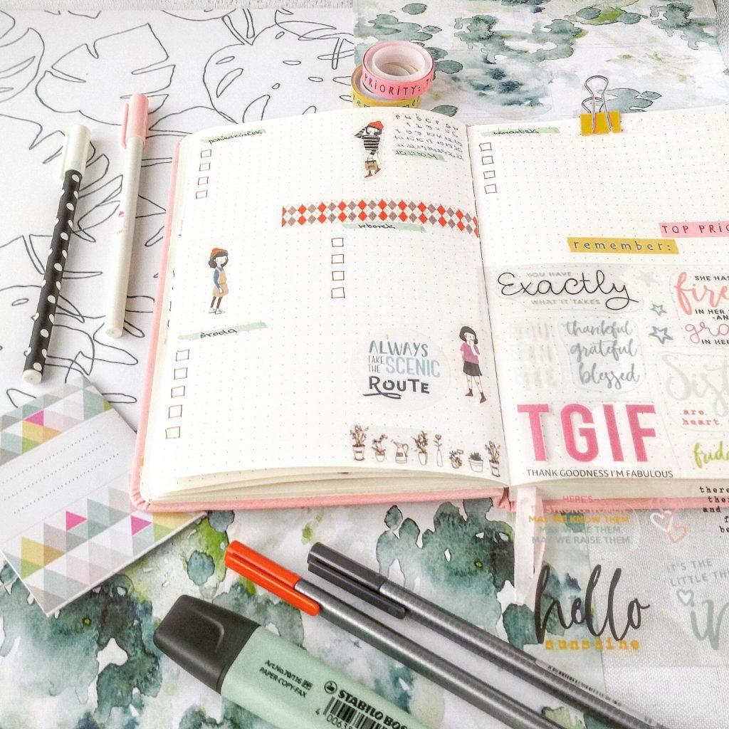 Jak prowadzić planer, żeby był ładny i funkcjonalny