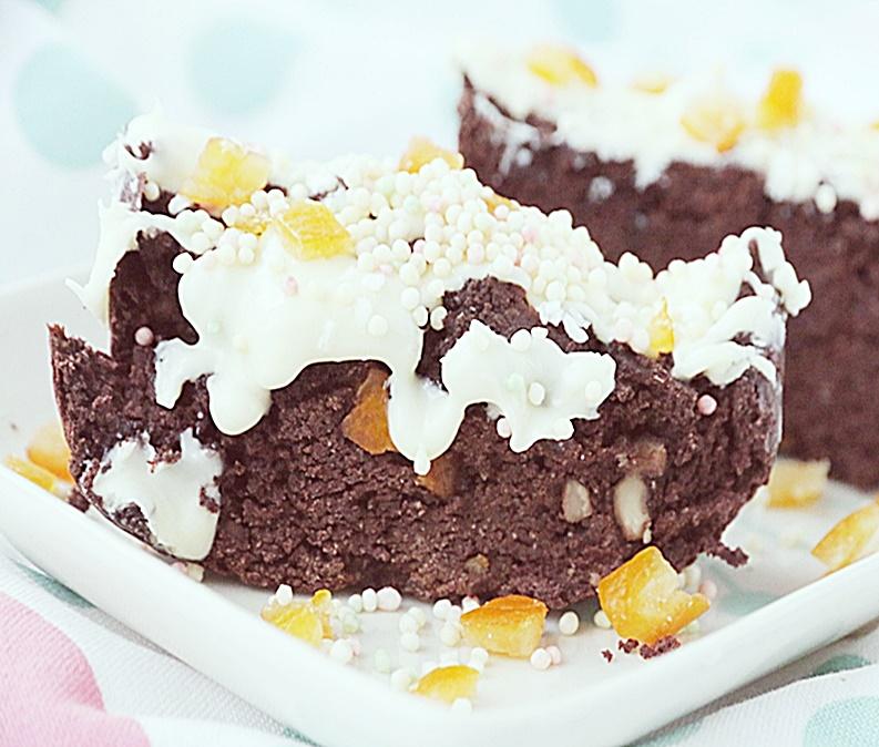Fasolowe ciasto brownie to zdrowa przekąska i deser